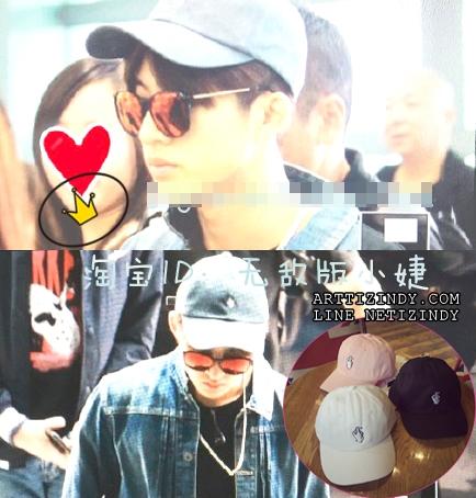 หมวกรูปมือแบบ B.I iKON -ระบุสี