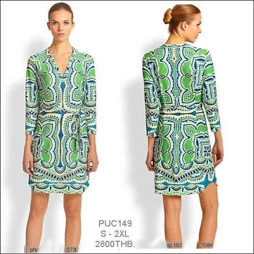 PUC149 Preorder / EMILIO PUCCI DRESS STYLE