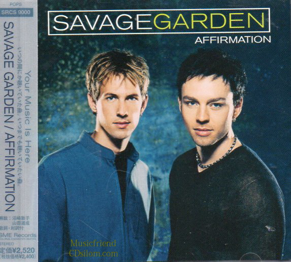 CD,Used,Savage Garden Affirmation(Japan)