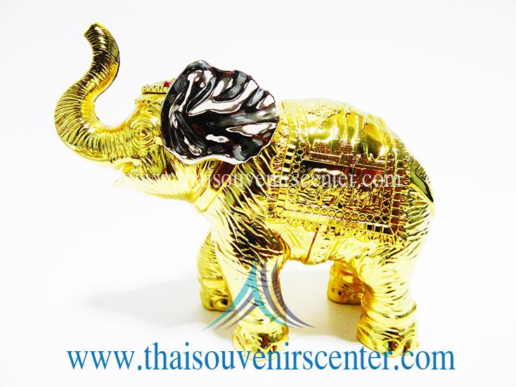 ของพรีเมี่ยม ของที่ระลึกไทย ช้าง แบบ 19 Size M สีทอง