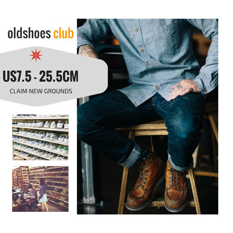 US7.5   25.5CM / REDWING / HAWKINS / CLARKS / ADIDAS