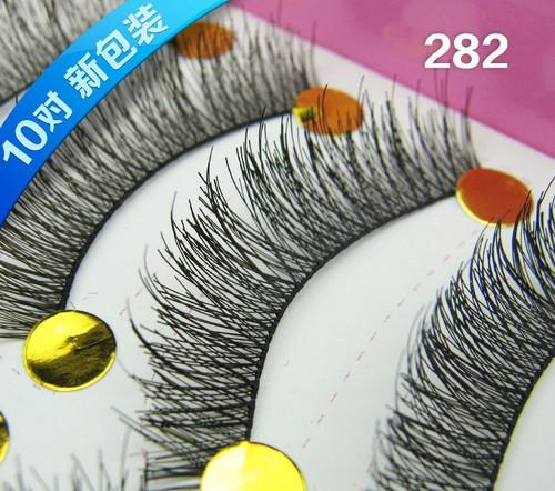 黑282# ขนตา(ราคาส่ง)ขั้นต่ำ 15 เเพ็ค