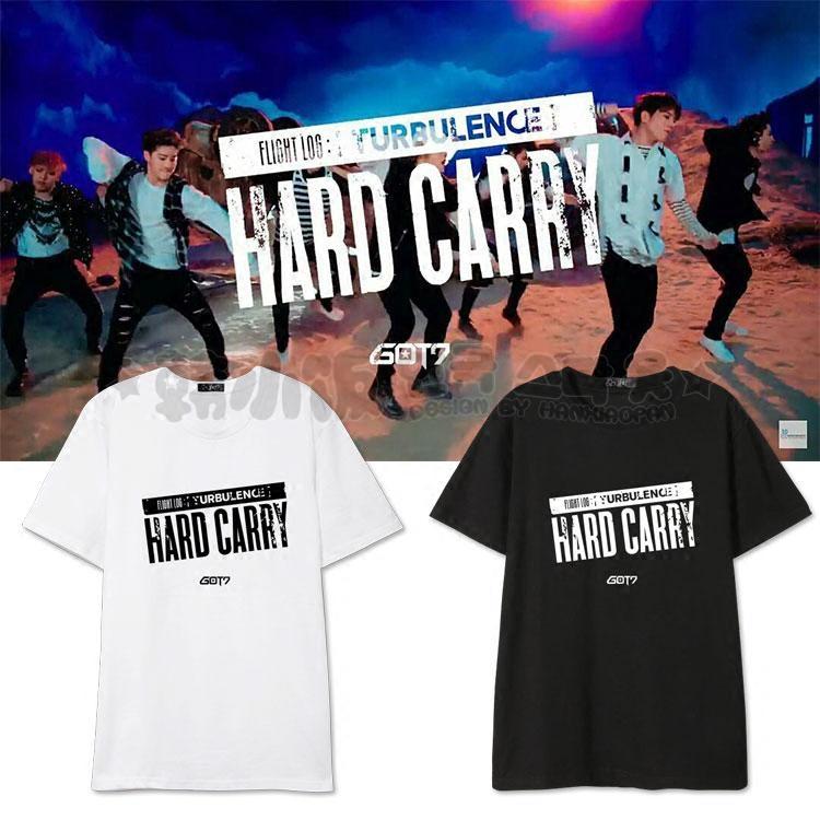เสื้อยืด GOT7 Hard Carry -ระบุสี/ไซต์-