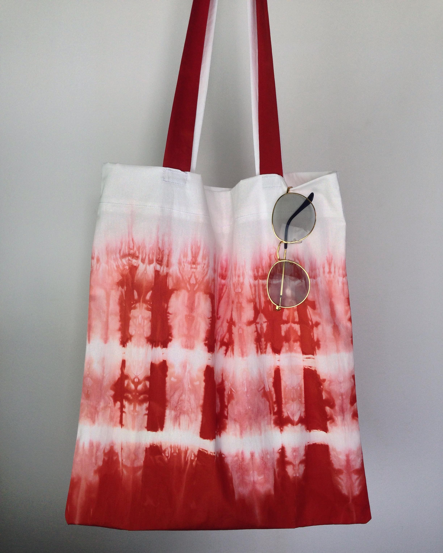 กระเป๋าผ้าฝ้ายมัดย้อม 003