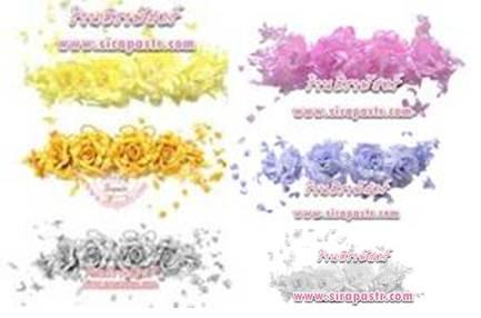 ดอกไม้ติดผม *เลือกสี