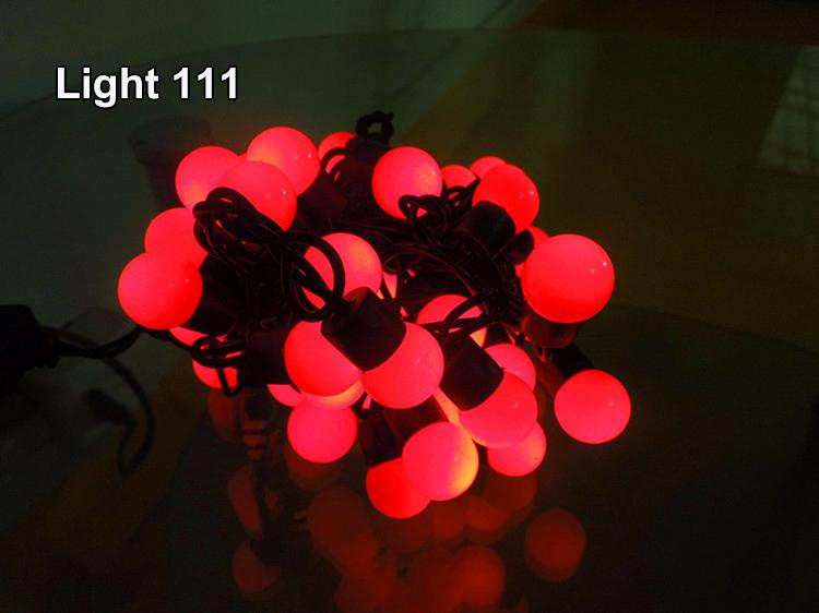 ไฟเชอรี่ LED สีแดง