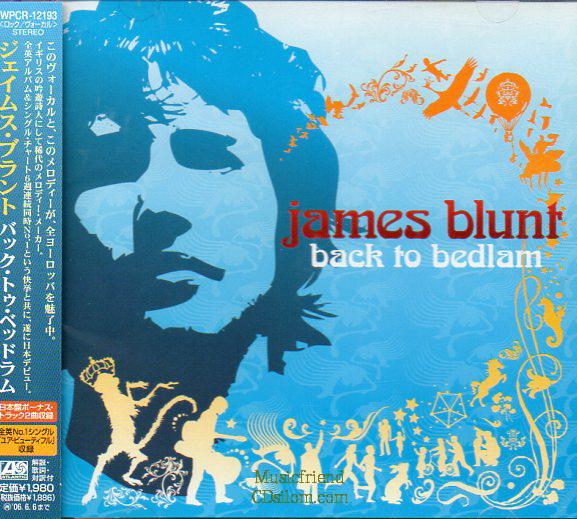 CD,Used,James Blunt - Back To Bedlam [Bonus Tracks](Japan)