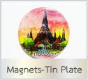 ของที่ระลึก แม่เหล็กติดตู้เย็น magnet Tin Plate