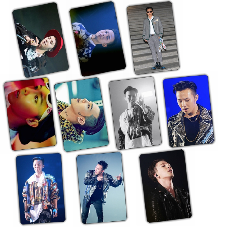 Sticker card set Bigbang MADE GD (10pc)