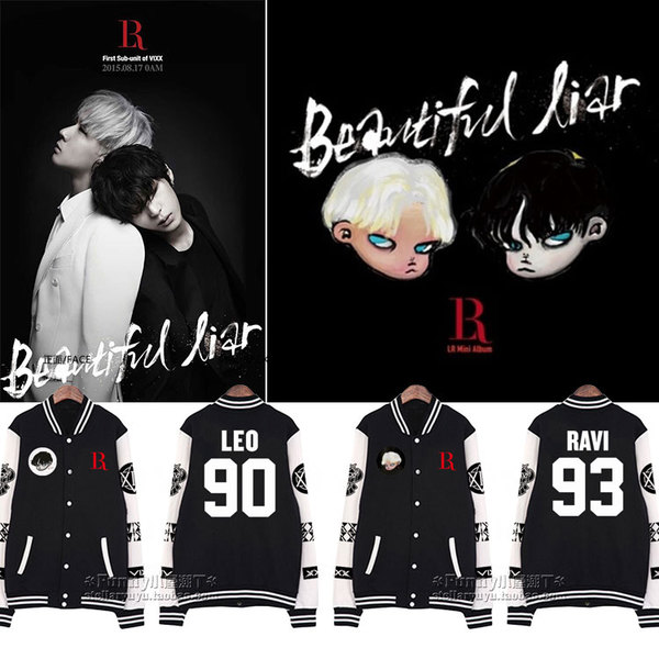 Jacket BASKETBALL VIXXX LR Beautiful Liar -ระบุสมาชิก/ไซต์-