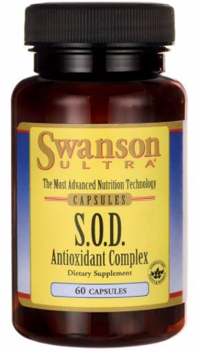 "Swanson Ultra S.O.D. Antioxidant Complex SOD แก้""หน้าแก่ก่อนวัย"" ผิวสวย ลดวัย ต้านอนุมูลอิสระ"