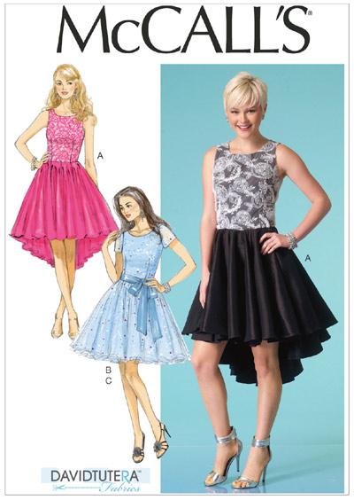 แพทเทิร์นตัดเดรสสตรี McCalls 7123 Size: 4-6-8-10-12