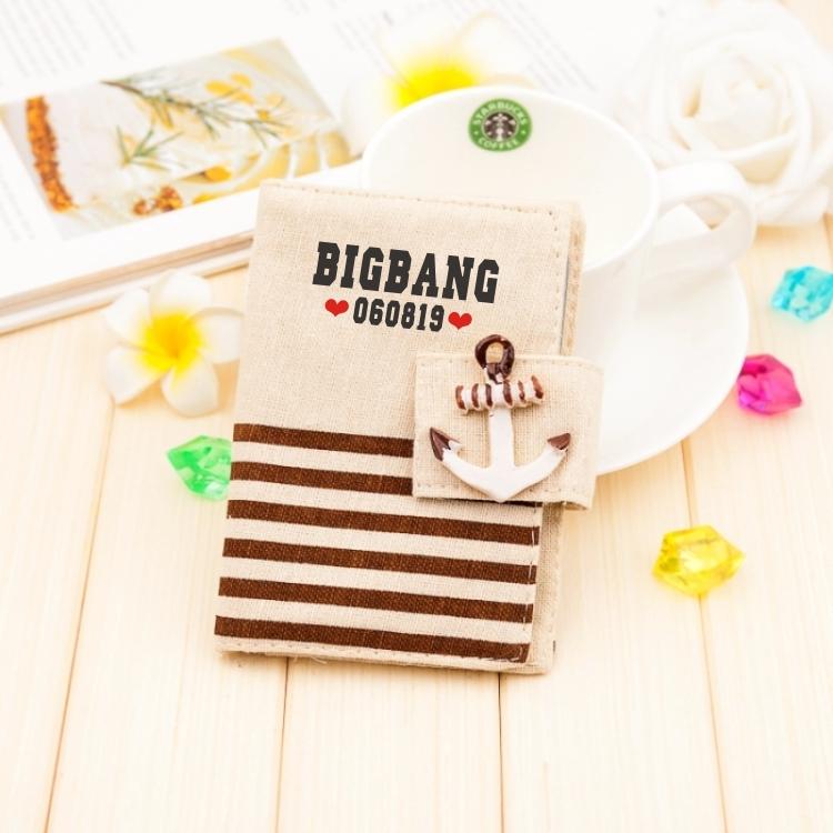 กระเป๋าใส่นามบัตร[11X9CM] - BIGBANG