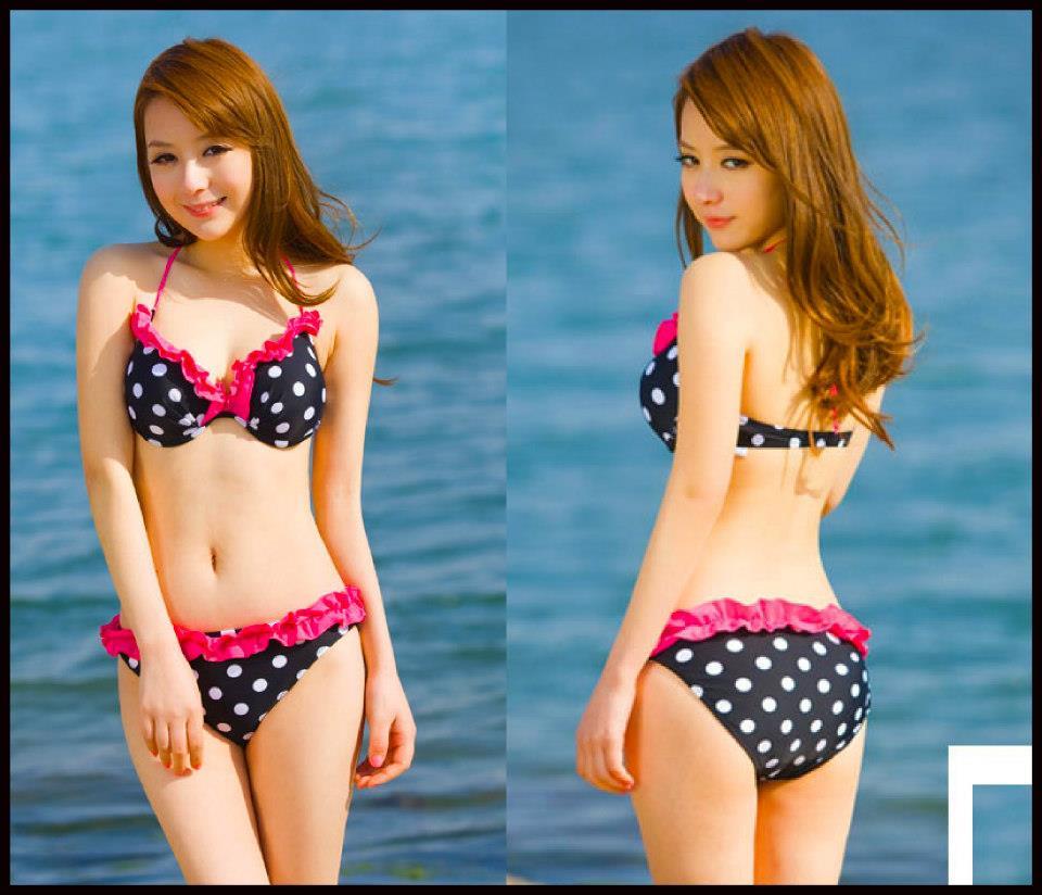 Happy Summer 006 สีดำ ไซส์ M L