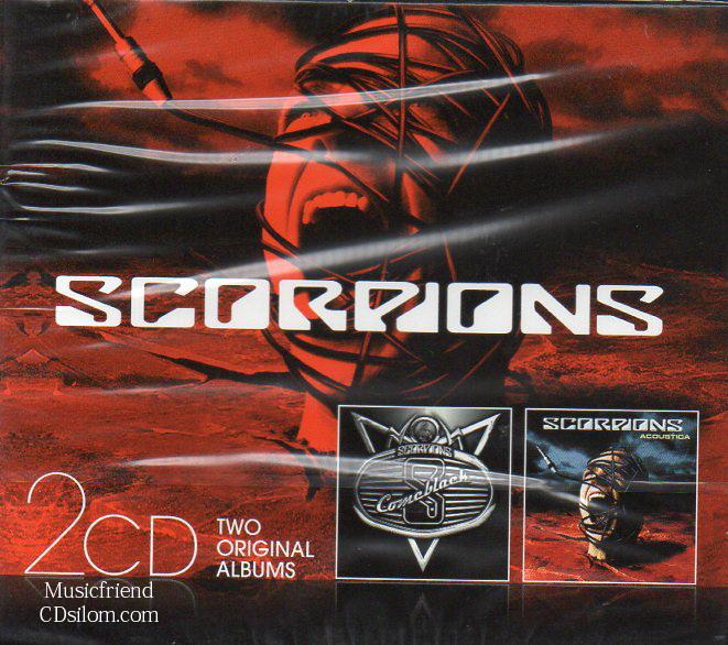 CD,Scorpions - Two original albums(EU)
