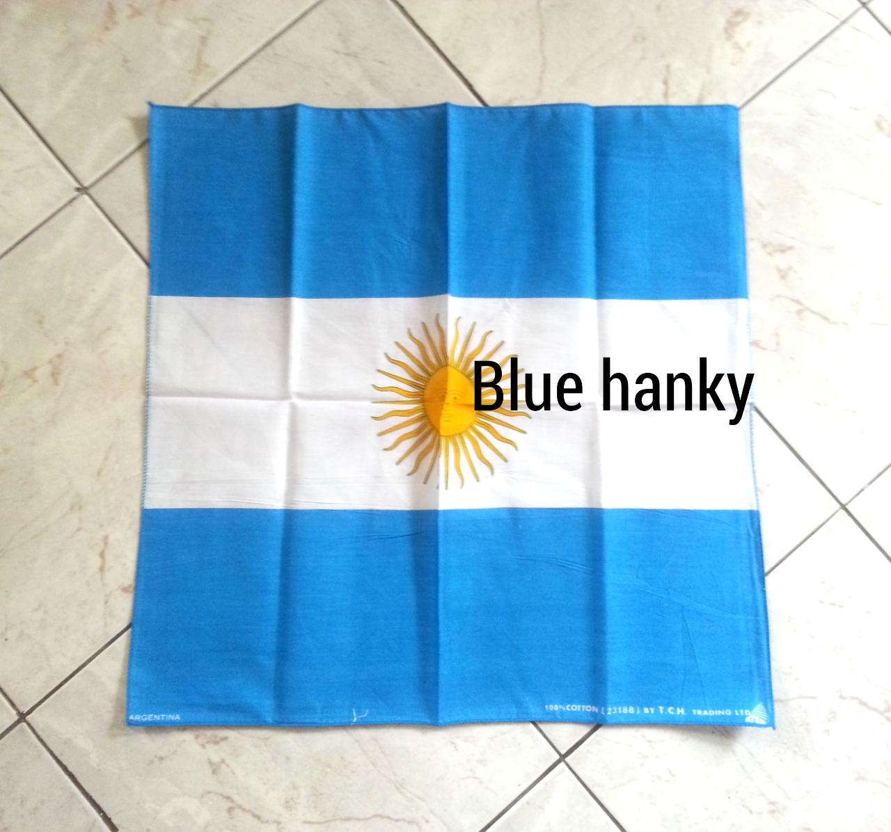 ผ้าพันคอลายธงชาติอาร์เจนติน่า