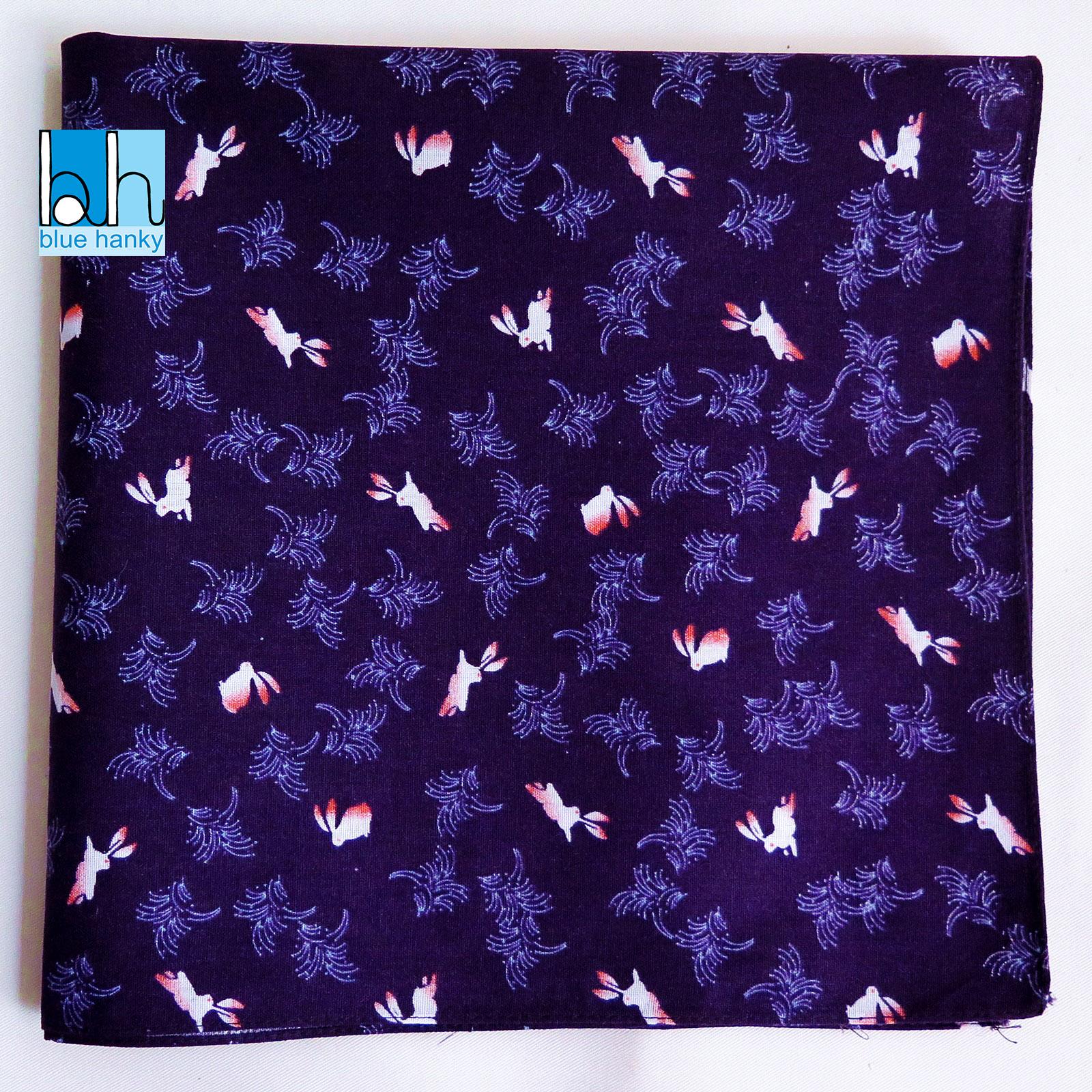 """#260 21"""" กระต่าย ผ้าเช็ดหน้ามือ2 สภาพดี ผ้าเช็ดหน้าผืนใหญ่"""