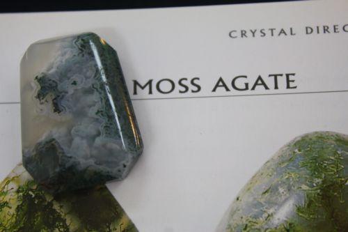 จี้มอสอาเกต ( Moss agate Pendant )
