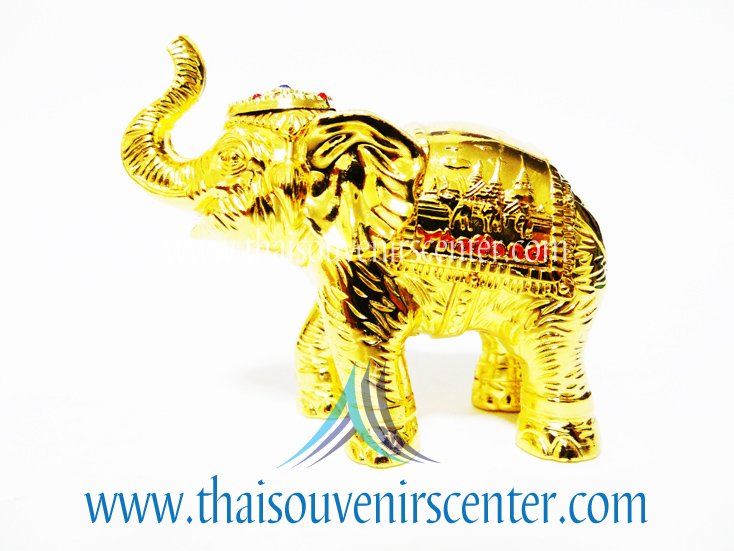 ของพรีเมี่ยม ของที่ระลึกไทย ช้าง แบบ 7 Size S สีทอง