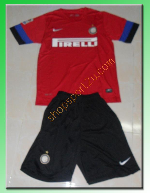 ชุดทีมเยือน Inter Milan 2012 - 2013