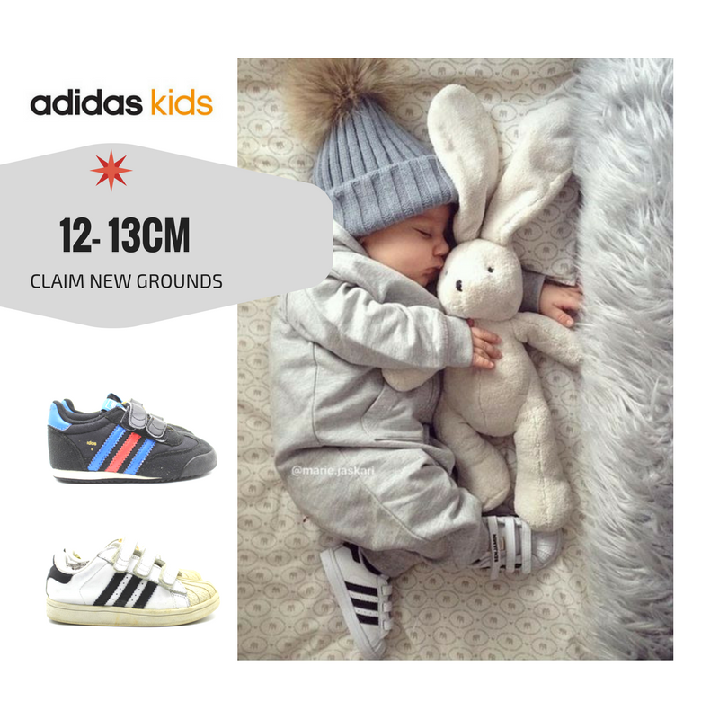 รองเท้าเด็กขวบ Kids 12-13CM (2-9 Months) Adidas