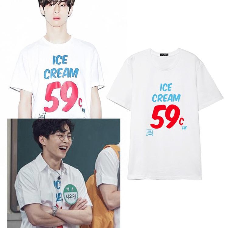 เสื้อยืด ICE CREAM 59c Sty.MARK -ระบุสี/ไซต์-