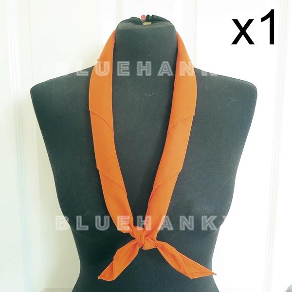 สีส้ม สามเหลี่ยม100ซม ลูกเสือ