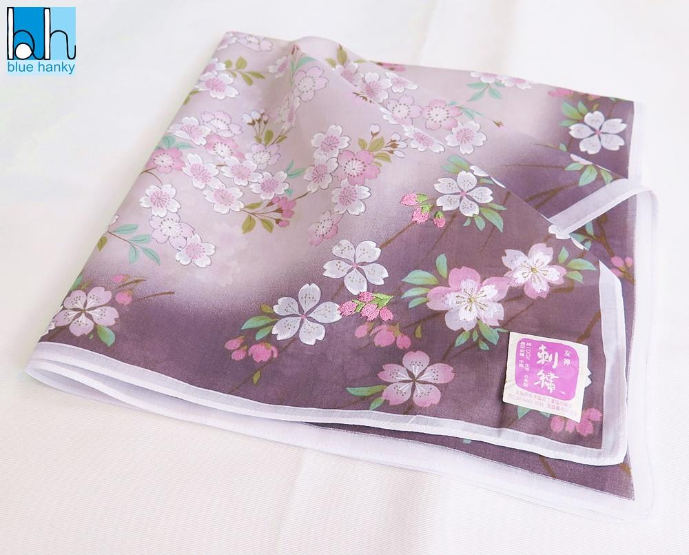 """#18 18"""" ผ้าเช็ดหน้าญี่ปุ่น ผ้าเช็ดหน้ามือ2 สภาพดี ผ้าเช็ดหน้าผืนใหญ่"""