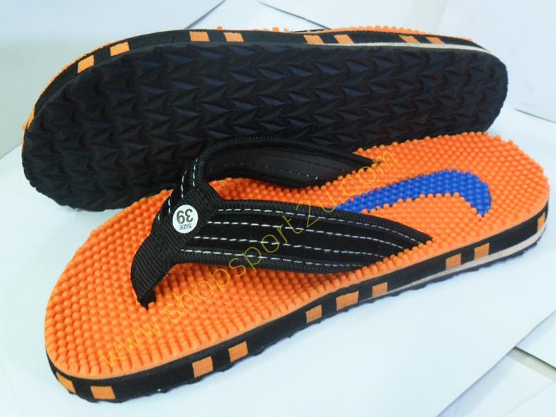 รองเท้าแตะ nike สีส้ม สำหรับผู้หญิง