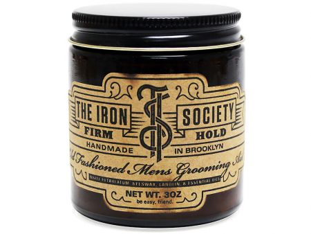 The Iron Society - Firm Hold (Oil Based) ขนาด 3 oz.