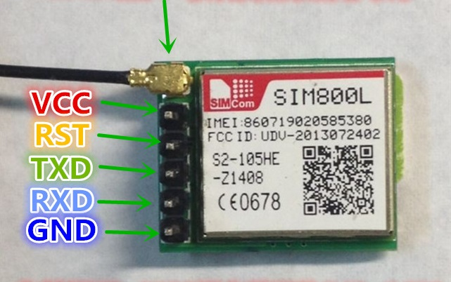 Cheap GSM module (SIM800) not connecting to the network