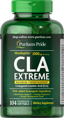 Puritan's Pride Myoleptin CLA Extreme complex 104 Softgels รวมลดน้ำหนักที่ครบมากๆในตัวเดียว