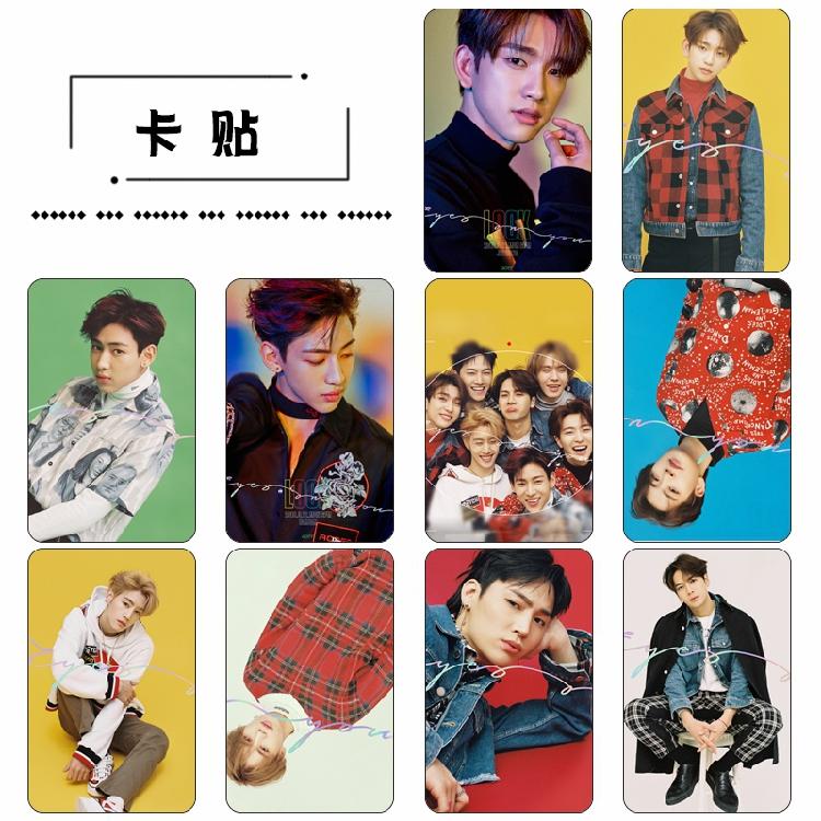 Sticker Card set GOT7 Eyes On You (10pc)