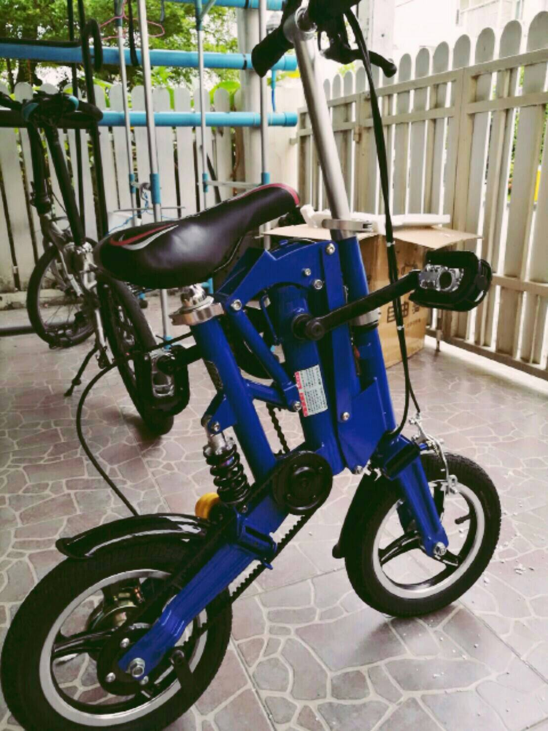 """จักรยานพับแม่และเด็ก เล็กจิ๋วสุดๆ ล้อ12"""" ใหม่ล้อ 14"""""""