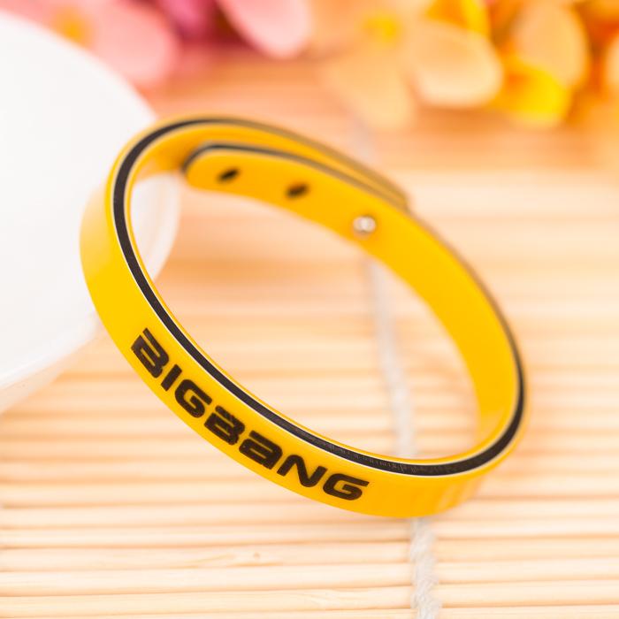 สายรัดข้อมือ i2i > BIGBANG สีเหลือง เส้นละ