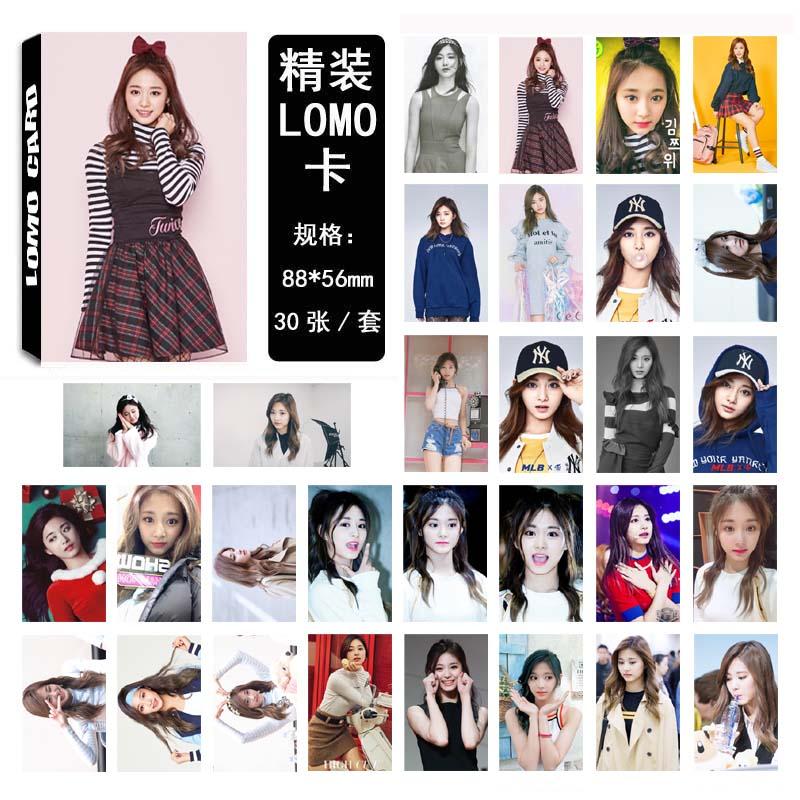 Lomo card set 02 Twice - Tzuyu (30pc)
