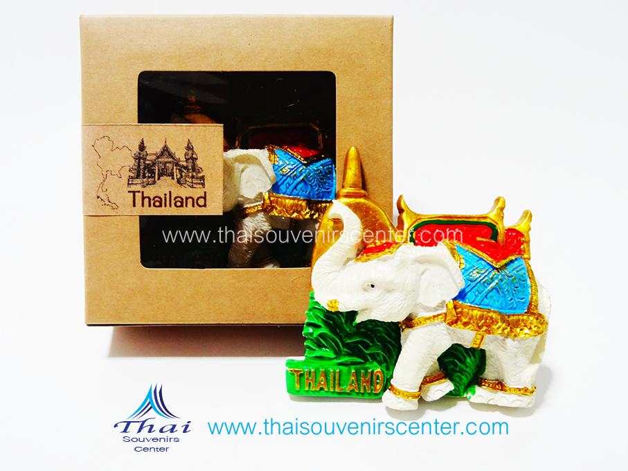 ของที่ระลึกไทย ที่ติดตู้เย็น ช้างไทย แบบ 77