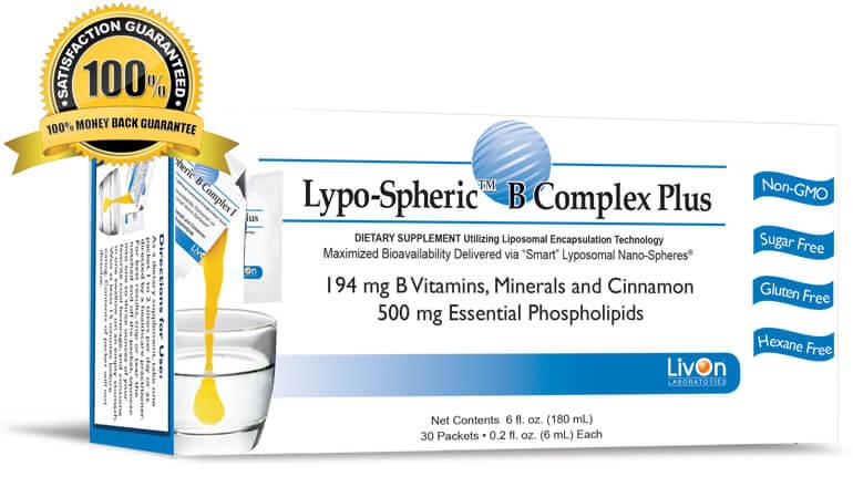 Lypo-Spheric™ B Complex Plus วิตามินหน้าเด็ก ชะลอความแก่ที่ดีที่สุด*