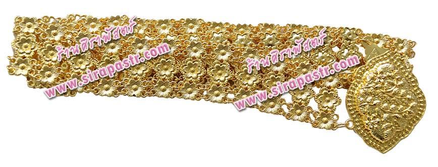 เข็มขัดสีทอง LK-3 (1.4 นิ้ว X 36 นิ้ว) *รายละเอียดตามหน้าสินค้า