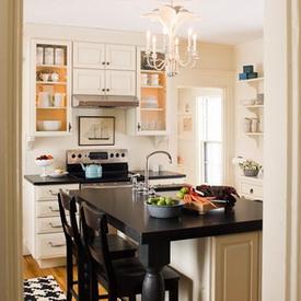 วิธีวางที่นั่งในการจัดห้องครัวเล็กๆ
