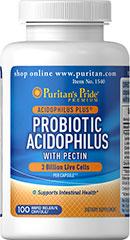 Probiotic Acidophilus with pectin 3 Billion live cells ปรับสมดุลระบบย่อยอาหารและลำไส้ ลดท้องผูก ดีกว่ากินโยเกิร์ตเยอะ