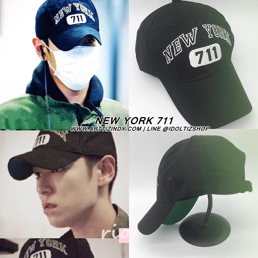 หมวก NEW YORK 711 แบบ TOP