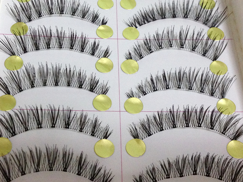 MC-01 ขนตาเอ็นใส(ขายปลีก)เเพ็คละ 10 คู่