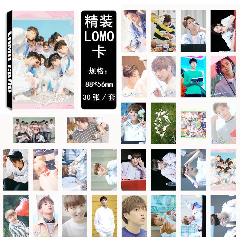 Lomo card set SEVENTEEN (30pc)