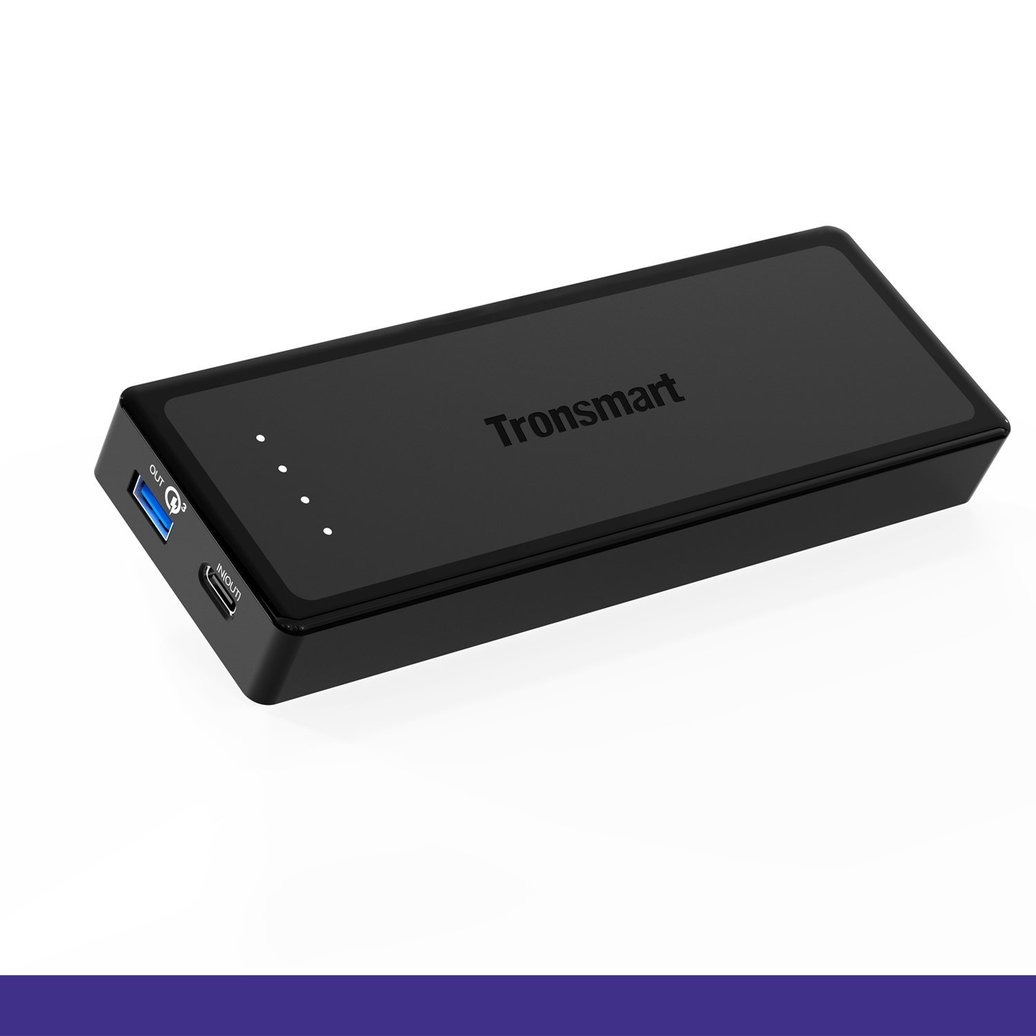 Tronsmart Presto 12,000 mAh Power Bank with Type-C Input & Output support Quick Charge 3.0