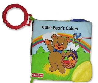 """หนังสือผ้า """"fisher price cute bear colors"""""""