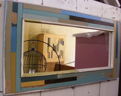 กระจกแต่งบ้านแบบยาว