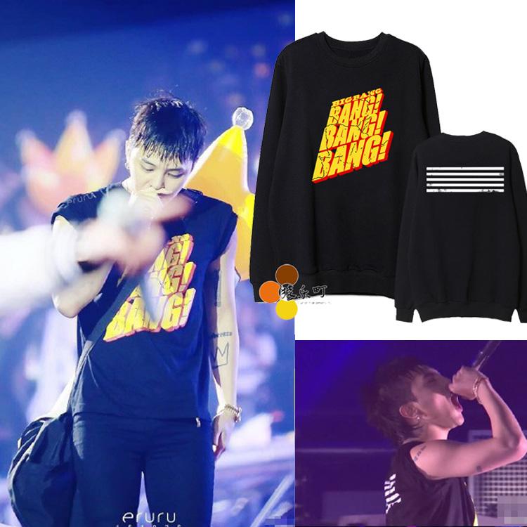 เสื้อแขนยาว BANG BANG BANG Sty.Bigbang -ระบุสี/ไซต์-