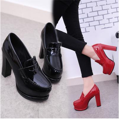 รองเท้าส้นสูง ไซต์ 35-39 สีแดง,ดำ