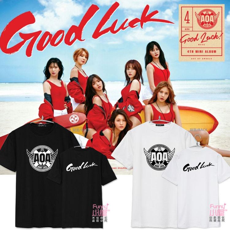 เสื้อยืด AOA Good Luck Logo -ระบุสี/ไซต์-